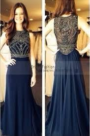 in stock vestido sereia royal blue party dresses elegant chiffon