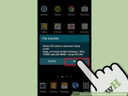 how to transfer apps from android to android how to apps on android bluetooth 9 steps with pictures