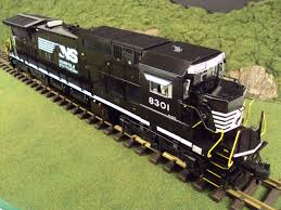 in the yard today is the mth one gauge norfolk southern narrow