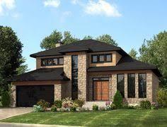 contemporary modern home plans w3713 v1 affordable contemporary modern home plan with family