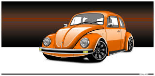 volkswagen orange orange vw beetle by diggerruvella on deviantart
