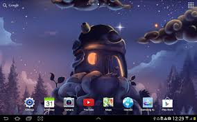 live halloween wallpapers for desktop meteor shower wallpaper lite android apps on google play