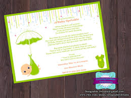 baby sprinkle invitation u0026 party package on luulla