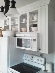Kitchen Microwave Cabinets Spacesaver Rustic Kitchen Design With Wood Wall Mounted Kitchen