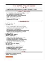 food service resume www greatsleresume wp content plugins downl
