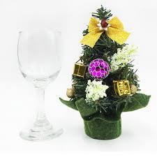 1 pc 20cm high mini christmas tree gift decoration christmas