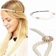 chain headpiece hot metal drop jewelry headband headpiece charm pearl