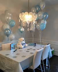 beautiful winter onederland first birthday party easy living today
