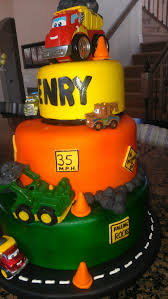 construction themed cake baby shower ideas pinterest