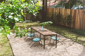 Houzz Patio Furniture Pea Gravel Patio Landscape Eclectic With My Houzz Austin Roofing