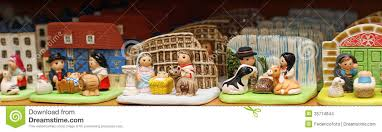 nativity set from around the world in religious goods store 3