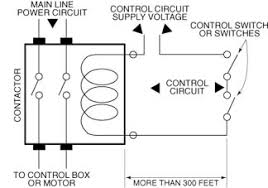 contactor coils and long control circuit cable runs franklin aid
