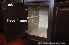 full overlay face frame cabinets our home from scratch