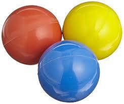 amazon com professor confidence balls set of 3 juggling balls