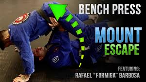 Academy Sports Bench Press Jiu Jitsu Mount Escape The Bench Press Formiga Youtube