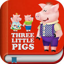 pigs interactive bedtime story book app