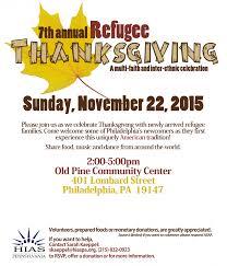 how we celebrate thanksgiving 2015 refugee thanksgiving hias pennsylvania