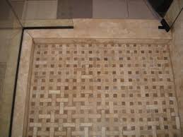 pleasant mosaic tile for shower floor with budget home interior