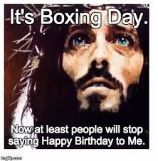 Boxing Day Meme - blue eyed jesus imgflip