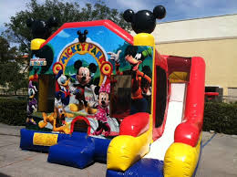 mickey mouse clubhouse bounce house bounce house rentals bristol ct mickey mouse combo bounce house