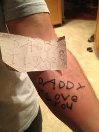 parent child tattoos kid and parent tattoo ideas
