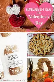 Homemade Valentine S Day Gifts For Him by 40 Homemade Gift Ideas For Valentine U0027s Day Allfreeholidaycrafts Com