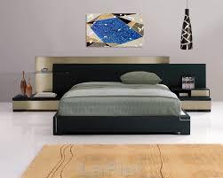 bedroom charming modern queen cappuccino finish bedroom