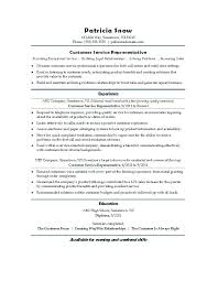 Free Sample Resume For Customer Service Representative Sample Resume For Customer Service Agent Sample Resume For