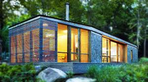 a modern stealth cabin in bracebridge ontario by superkül