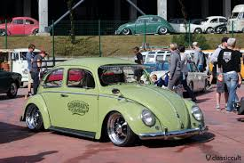 green volkswagen beetle 2016 le bug show 2016 vw meeting spa belgium classiccult