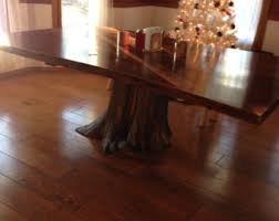 Living Edge Dining Table Live Edge Table Etsy