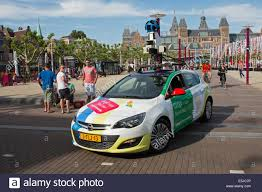 Street View Google Map Netherlands Amsterdam Google Maps Street View Recording Car On