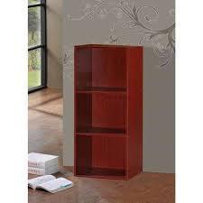 Bookcase Mahogany Mahogany Bookcases Home Office Furniture The Home Depot