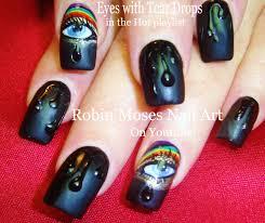 robin moses nail art easy diy water droplets nail art