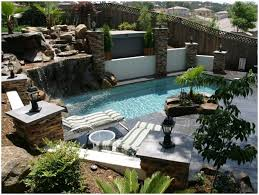 Landscaping Ideas For Small Backyards by Backyards Enchanting Rock Backyard Landscaping Ideas Modern
