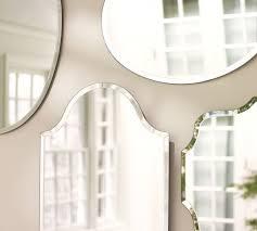 Pottery Barn Beveled Mirror Best 25 Frameless Mirror Ideas On Pinterest Interior Frameless