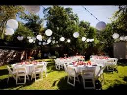 Backyard Wedding Decorations Ideas Simple Backyard Wedding Decorations Ideas