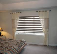 home decoration bedroom curtains with blinds ideas for living
