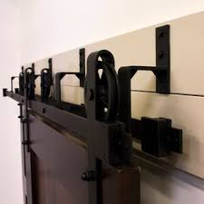 Erias Home Designs Top Of Door Sliding Barn Door Hardware by Bypass Barn Door Hardware Wayfair