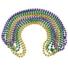 mardi gras beaded necklaces rhode island novelty mardi gras chain ebay