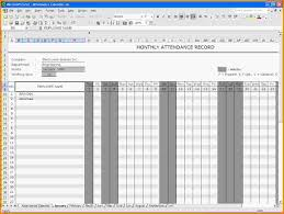 Mileage Spreadsheet 9 Attendance Spreadsheet Template Letter Template Word