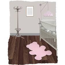 tapis ourson chambre bébé tapis teddy 80x100 de nattiot tapis aubert