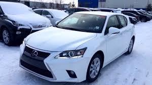 lexus ct200h tires 2014 white lexus ct200h hybrid review alberta youtube