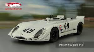 porsche 908 ck modelcars video porsche 908 02 green park sebring 48 s