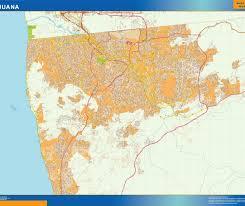 Tijuana Mexico Map Mapa Tijuana Our Cartographers Have Made Mapa Tijuana As Digital