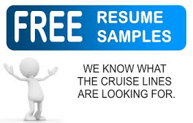 Sample Resumes For Jobs by Cruise Ship Jobs Cruise Ship Employment Tips For Resumes And