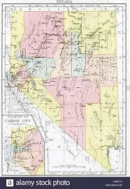 Nevada City Map Nevada State Map Stock Photos U0026 Nevada State Map Stock Images Alamy