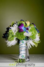 wedding flowers edmonton wedding bouquet inspiration funky lime green blue flowers