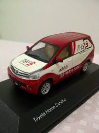 toyota home service jual miniatur mobil avanza toyota home service ths diecast 1 43