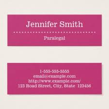 paralegal business cards minimal paralegal business card zazzle